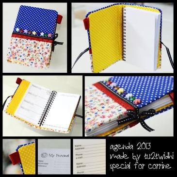 agenda handmade