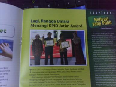 the man on this article is Rangga Umara.. Fenty's Husband. Congrats, fen!