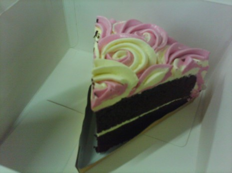 bought this on my favorite patisserie shop, Igor's Pastry. delicious cake, indeed!
