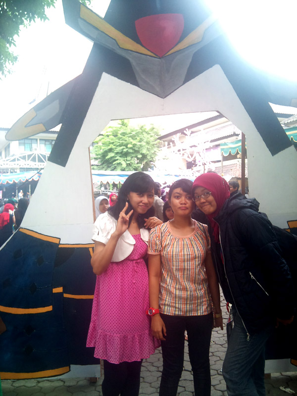 catty-san, ega and me~