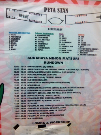 rundown acara
